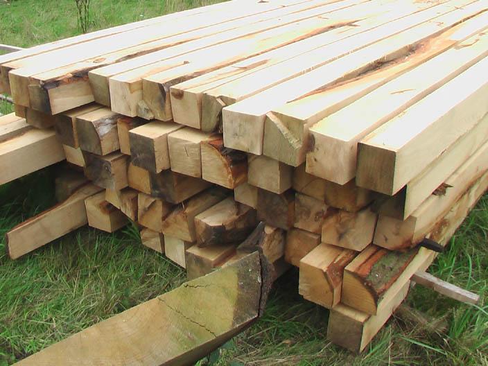 Kantholz eiche 12×12